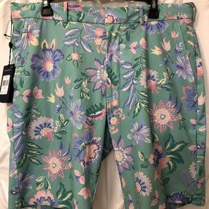 Polo Ralph Lauren Men Green Pink Garden sz 34 NWT